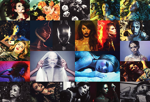 Virgin Suicide theme - Full collection in one poster