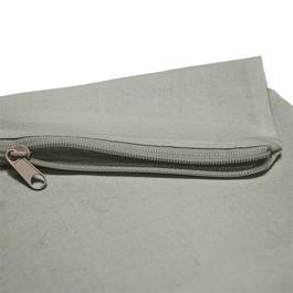 Grey zip