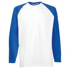 Royal Blue Sleeve/White