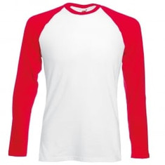 Red Sleeve/White