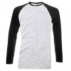 Black Sleeve/Grey