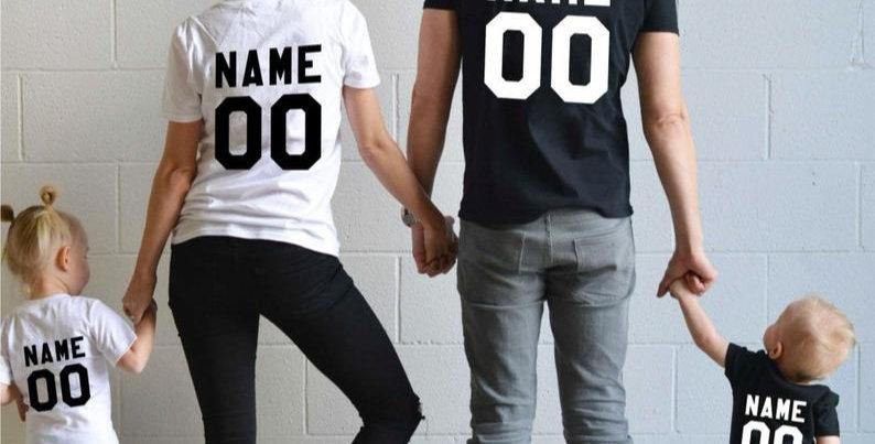 Kiddies T-Shirt Name