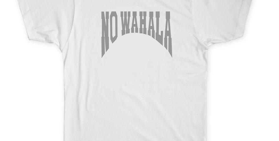 NO WAHALA T-SHIRT - WHITE/GREY