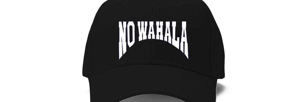 NO WAHALA HAT - BLACK/WHITE