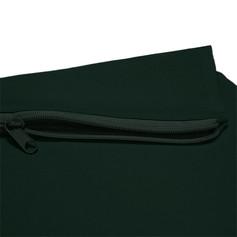 Dark Green Zip