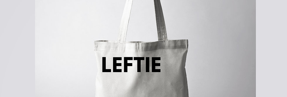 Leftie Tote Bag