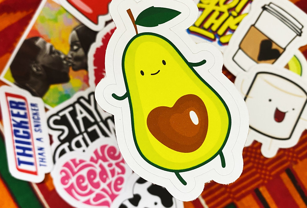 """Circle Cut Stickers 4""""x 4"""" inches"""
