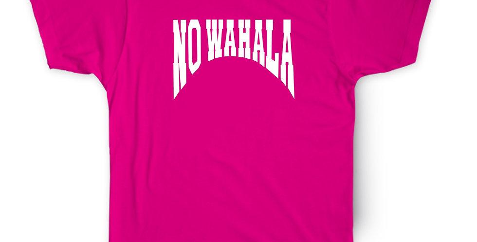 NO WAHALA T-SHIRT - PINK/WHITE