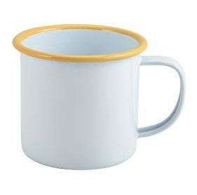 Enamel-Mug-White-with-Yellow-Rim-36cl-30