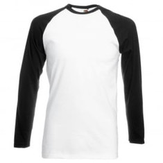 Black Sleeve/White