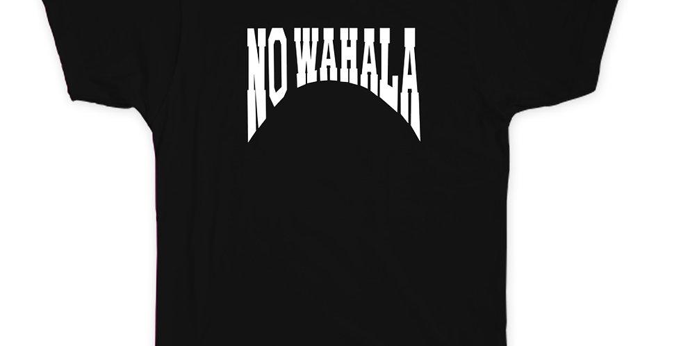 NO WAHALA T-SHIRT - BLACK/WHITE