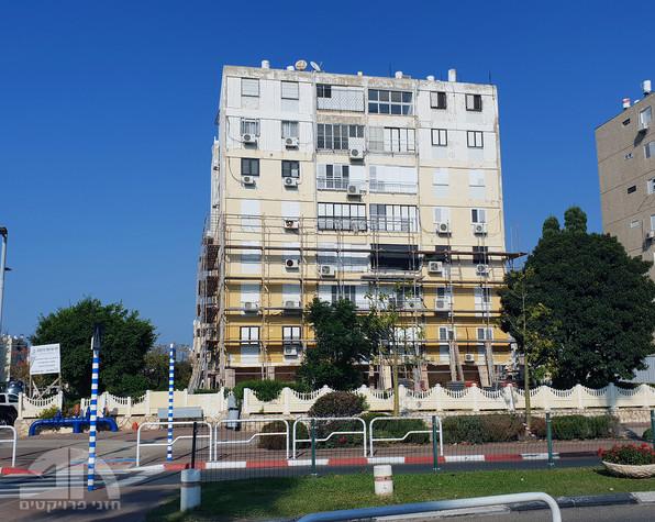 בניין בעכו לפני שיפוץ