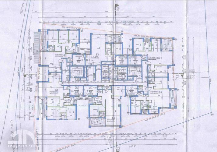 תכנית קומה טיפוסית