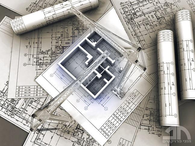 תכנוןשיפוץ דירת מגורים וסגירת קומת עמודים