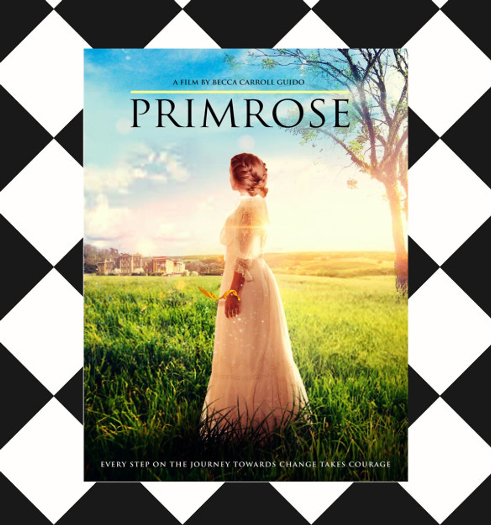 Primrose poster CheckPattern square