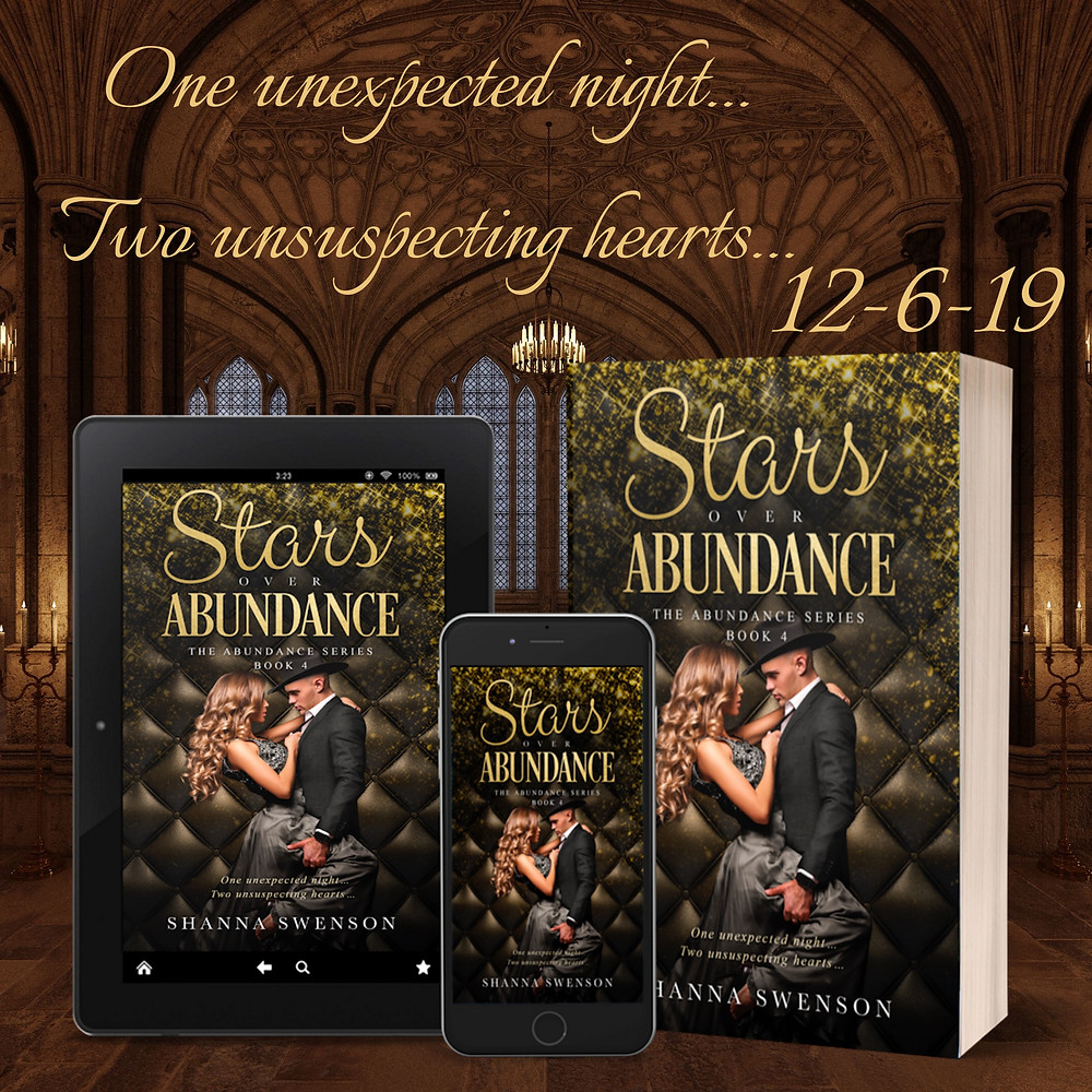 Stars Over Abundance cover reveal Shanna Sweson