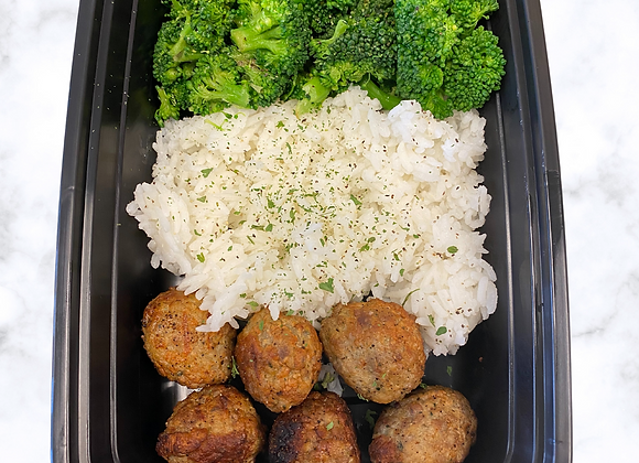 Turkey MB  Jasmine Rice  Broccoli