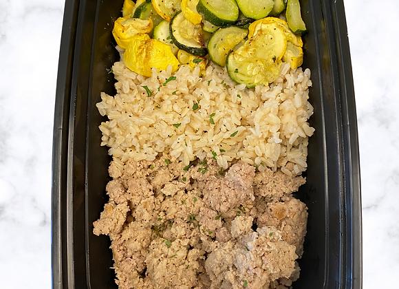 G. Turkey  Brown Rice  Zucchini