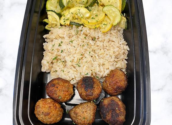 Turkey MB  Brown Rice  Zucchini
