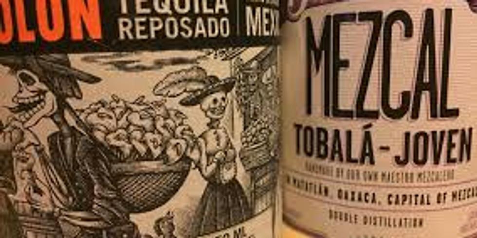 Tequila vs Mezcal Tasting & Lecture