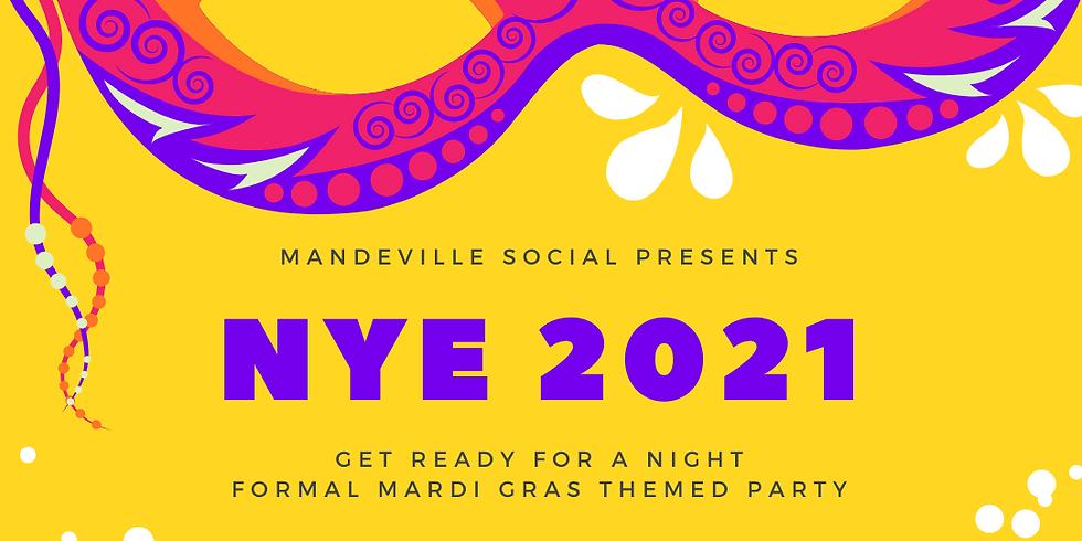 NYE 2021 : Mardi Gras Style