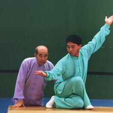 Grand Maître Zhang Guang De et Wakalin Zhang Jian, neveu et héritier de la méthode