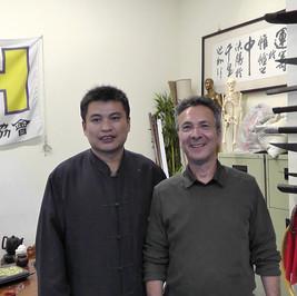 Richard Huang et Jean-Pierre Peyruseigt