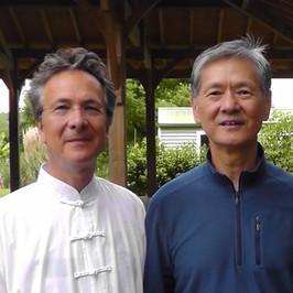 Jean-Pierre Peyruseigt et Maître Shen Shen-Yan