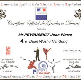 4eme DUAN FFWushu