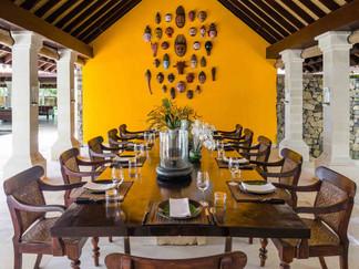 3. Sira Beach House - Dining area settin
