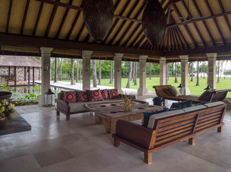 10. Sira Beach House - Living area with