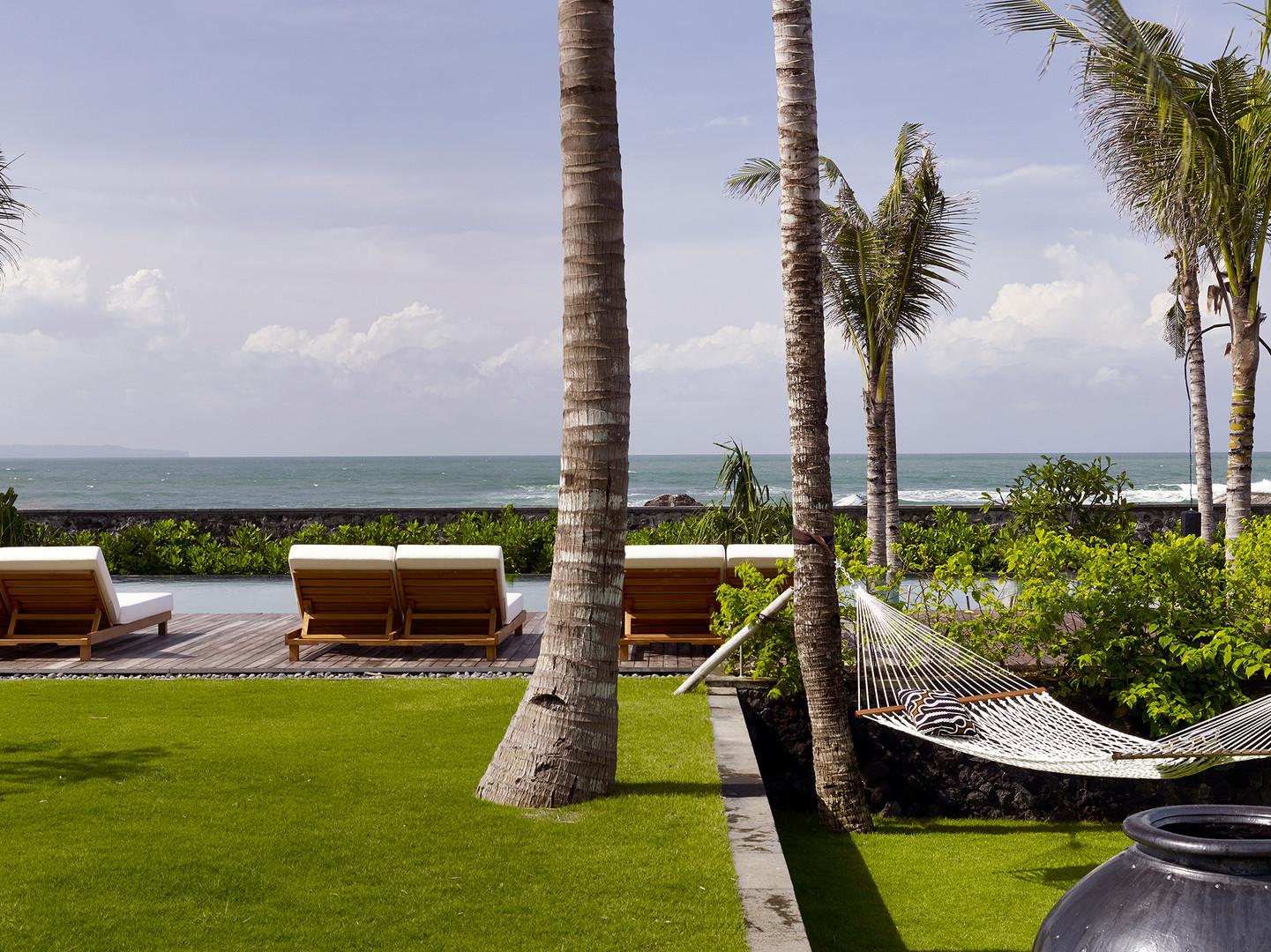 26-Arnalaya Beach House - Garden pool an