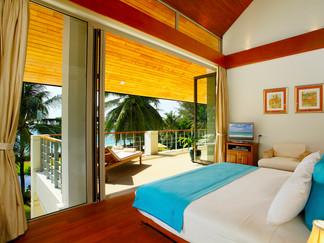 17. Baan Taley Rom - Tropical bedroom ou