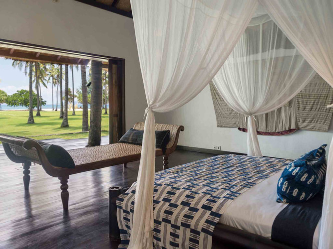 5. Sira Beach House - Beach bedroom one