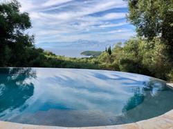 Luxury villa in NE Corfu