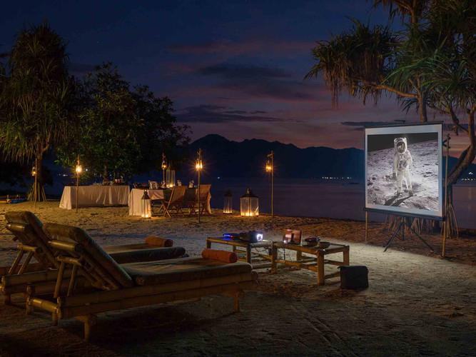 9. Sira Beach House - Movie time.jpg