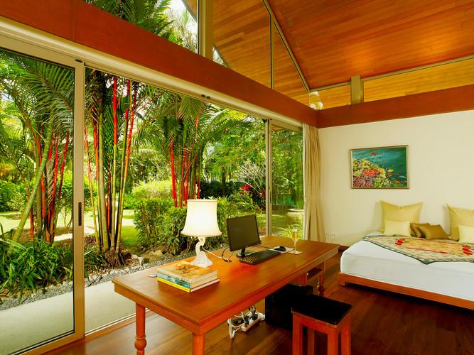 18. Baan Taley Rom - Bedroom garden outl