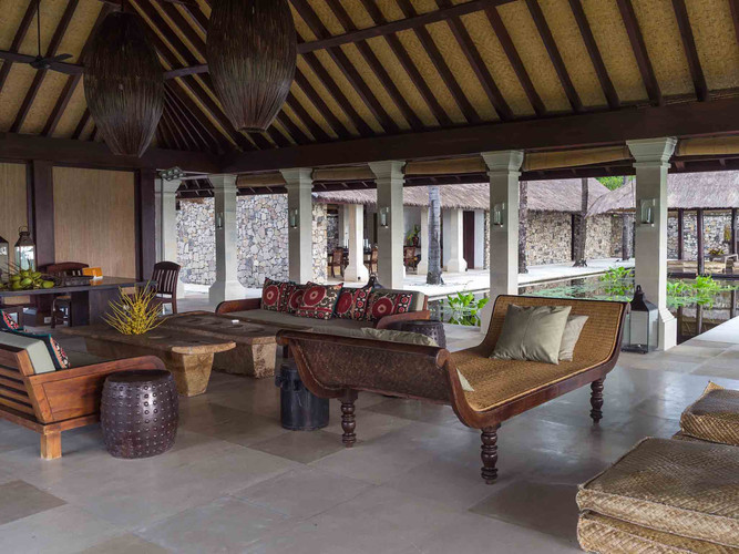 Sira Beach House - Living area grand des