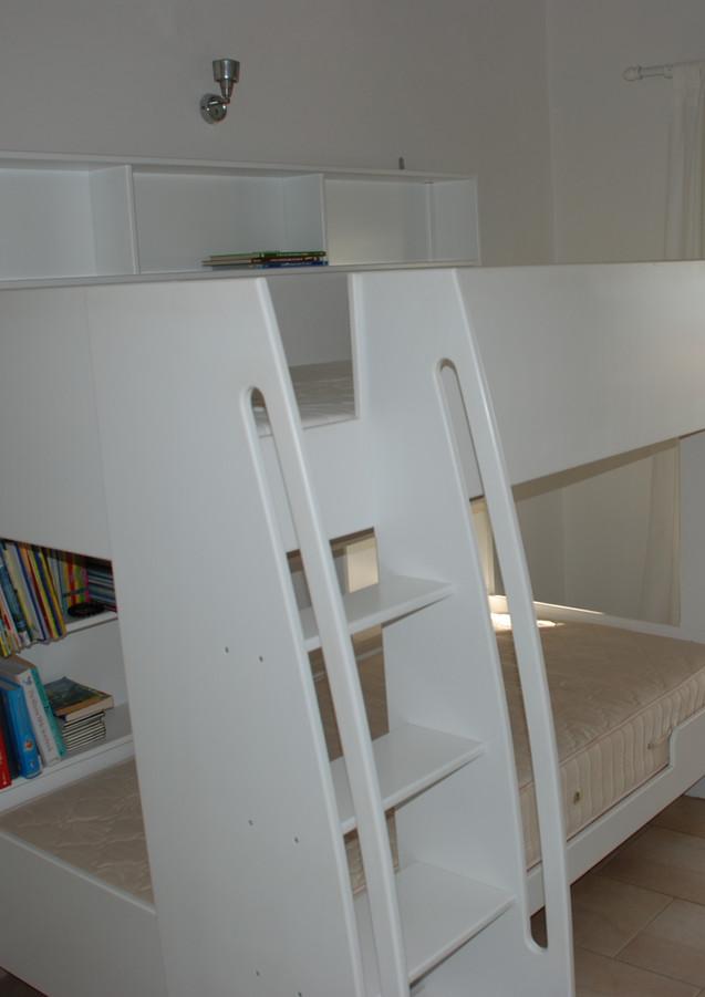 Kids bedroom and handbuilt bunks