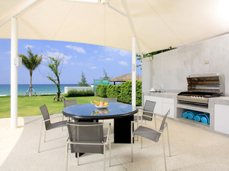 10-Villa Amarelo - Outdoor dining and bb