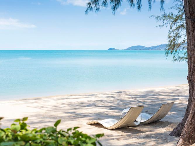 Ban Suriya - Private beach loungers.jpg