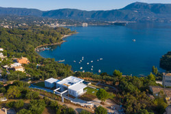New modern villa in Greece