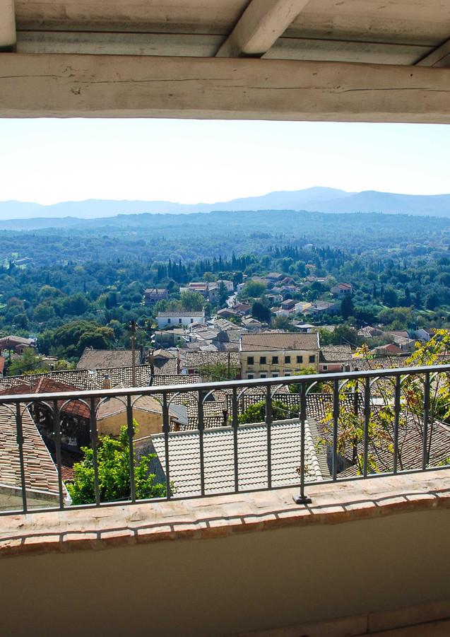 Views from bedroom balcony