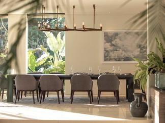 Noku Beach House - Modern dining area.jp