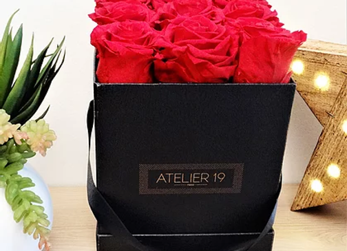 Box 9 Roses Eternelles