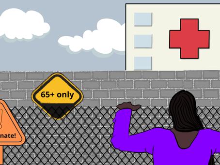 Age-Based Vaccine Eligibility Ensures Racial Bias