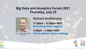 Richard McElhinney to present at AIRAH's Big Data and Analytics Forum 2021