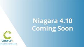 Niagara 4.10 is Coming Soon