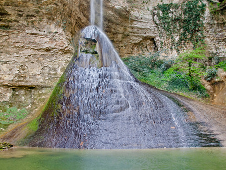 Шакуранский водопад.Турецкая тропа.