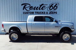 Route 66 Lifted Ram 2500 Silver